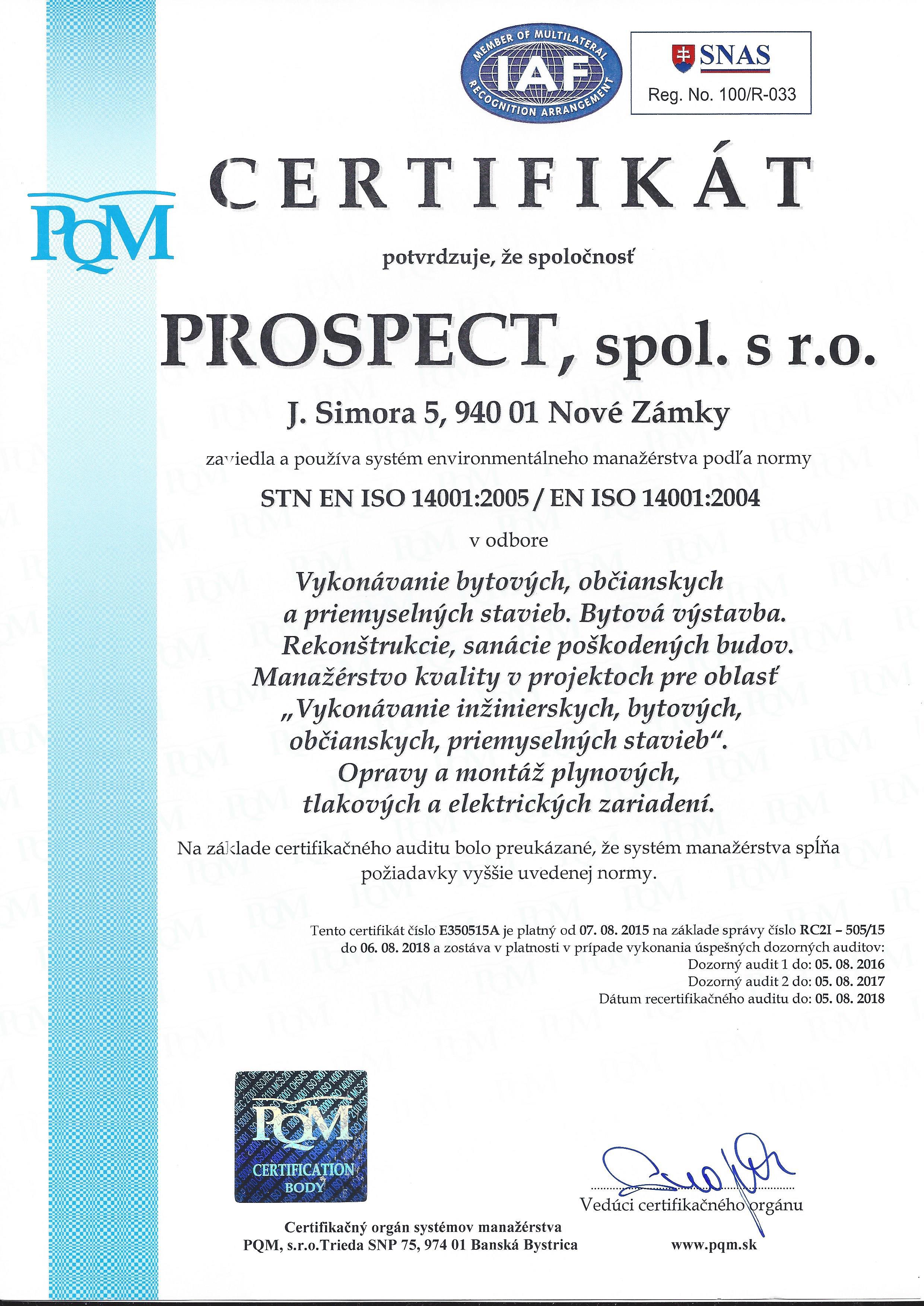 CERTIFIKÁT-STN-EN-ISO-14001-2005-EN-ISO-14001-2004