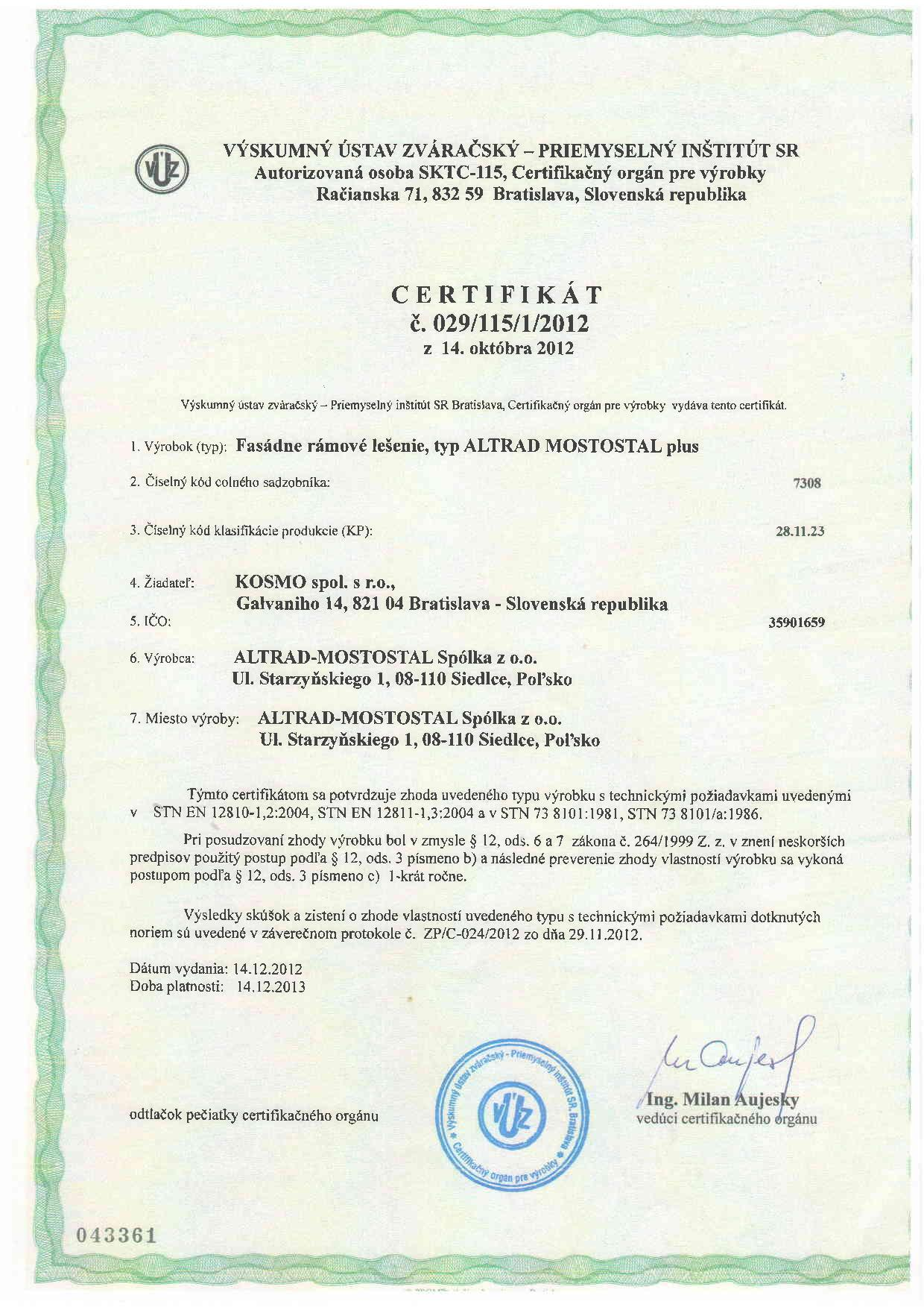 Certifikát-lešenie-Altrad