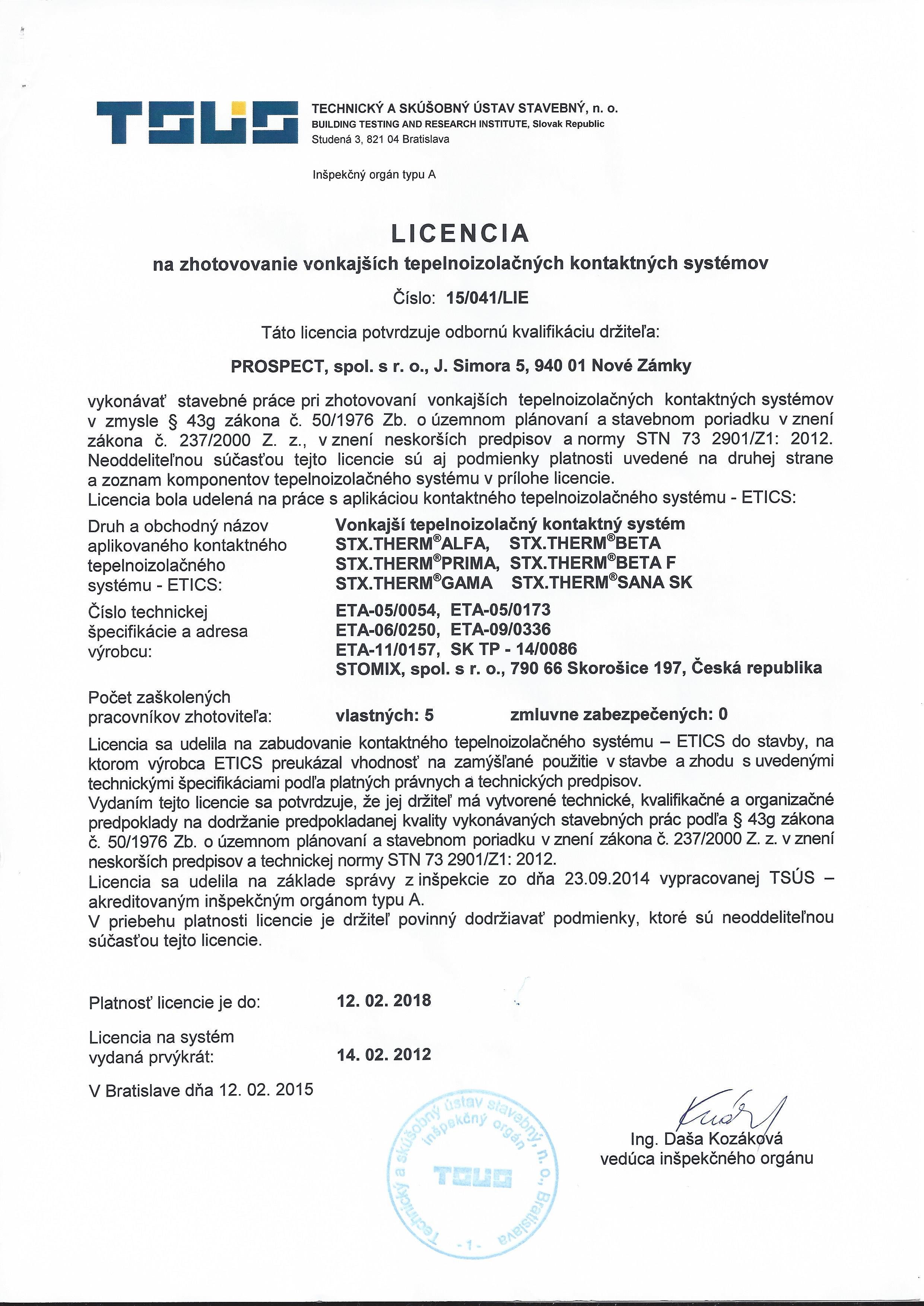 LICENCIA-č.-15-041-LIE-na-zhotovovanie-vonkajších-tks