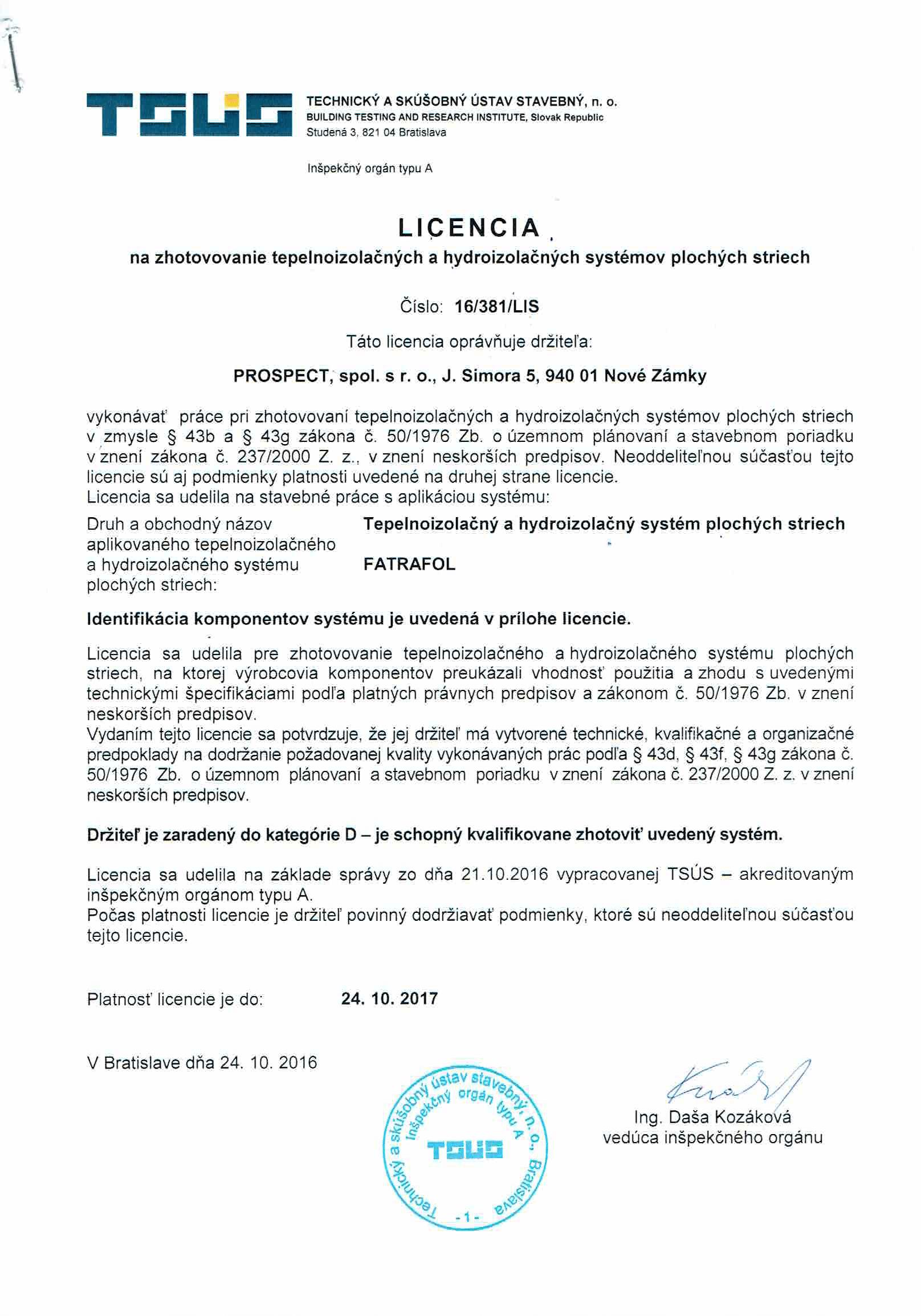 Licencia FATRAFOL-1